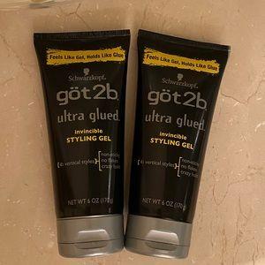 Got2b ultra glued invincible styling gel